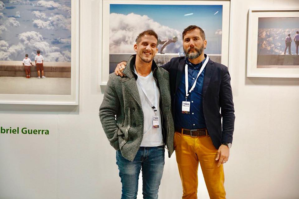 Gabriel Guerra Bianchini, present at MIA PHOTO FAIR 2018, MILAN.